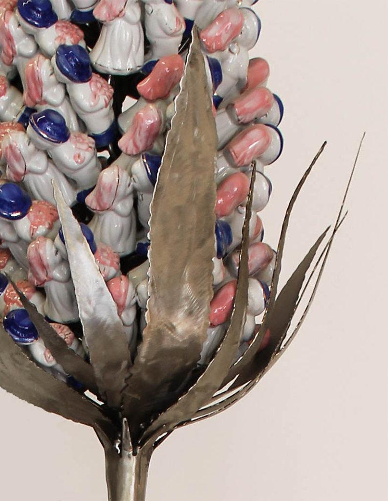 Fleur d'amour, Detail